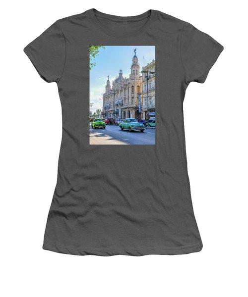 Gran Teatro De La Habana Women's T-Shirt (Athletic Fit)