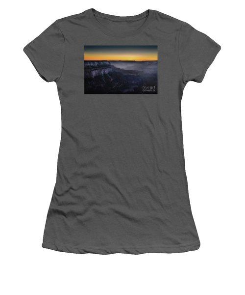 Grand Canyon At Twilight Women's T-Shirt (Junior Cut) by RicardMN Photography