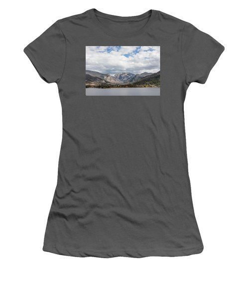 Grand Lake -- Largest Body Of Water In Colorado Women's T-Shirt (Junior Cut) by Carol M Highsmith