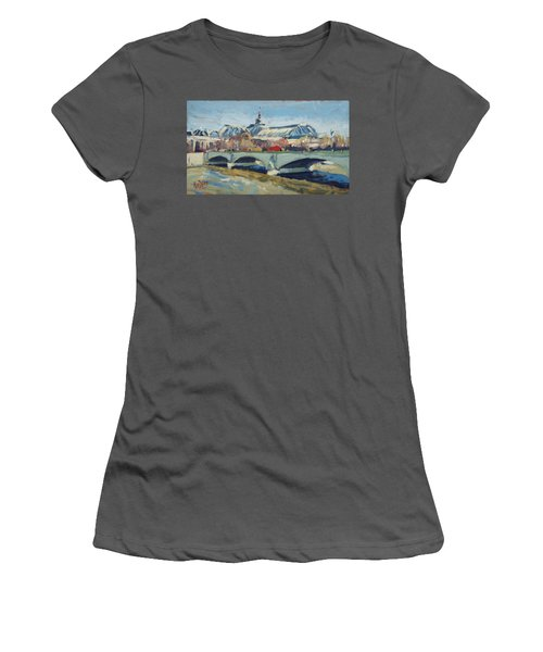 Grand Palace In Winter Paris Women's T-Shirt (Athletic Fit)