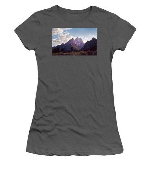 Grand Teton Women's T-Shirt (Junior Cut) by Scott Norris
