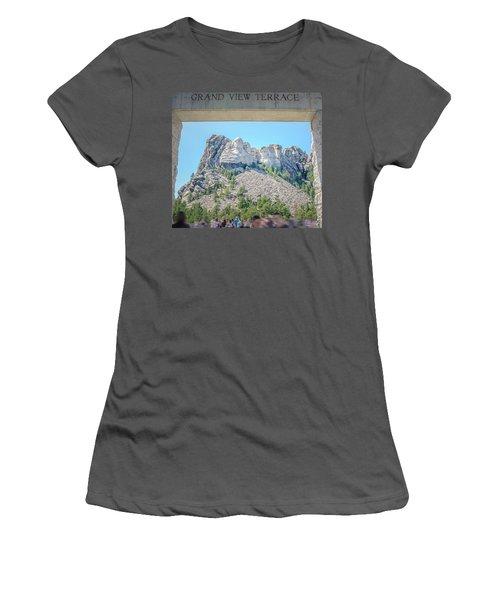 Grand View Women's T-Shirt (Junior Cut) by Mark Dunton