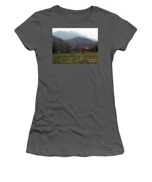 Grandfather Mountain Women's T-Shirt (Athletic Fit)