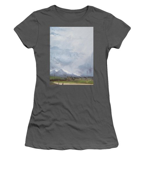 Grantsville Skies Women's T-Shirt (Junior Cut) by Jane Autry