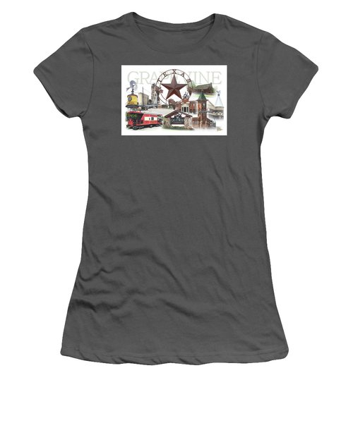 Grapevine Texas Women's T-Shirt (Junior Cut) by Doug Kreuger