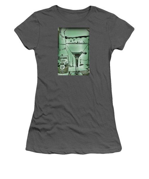 Graphic Refreshments Women's T-Shirt (Junior Cut) by Pamela Blizzard