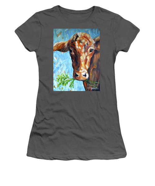 Grassfed Women's T-Shirt (Athletic Fit)