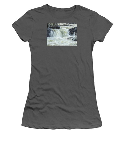 Great Falls Of The Potomac Women's T-Shirt (Athletic Fit)