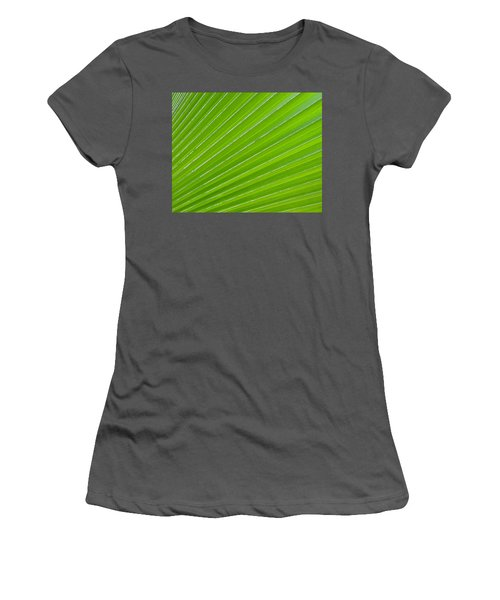 Green Abstract No. 1 Women's T-Shirt (Athletic Fit)
