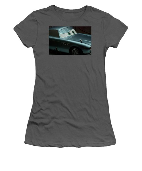 Green Eyed Finn Mcmissile Mp Women's T-Shirt (Junior Cut) by Thomas Woolworth