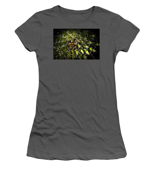 Women's T-Shirt (Junior Cut) featuring the photograph Green Plant by Catherine Lau