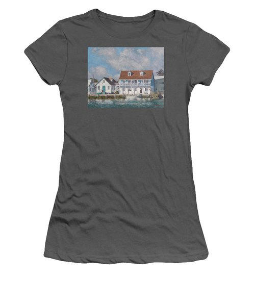 Green Turtle Cay Past And Present Women's T-Shirt (Athletic Fit)