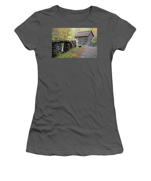 Grist Mill Women's T-Shirt (Junior Cut) by Lamarre Labadie