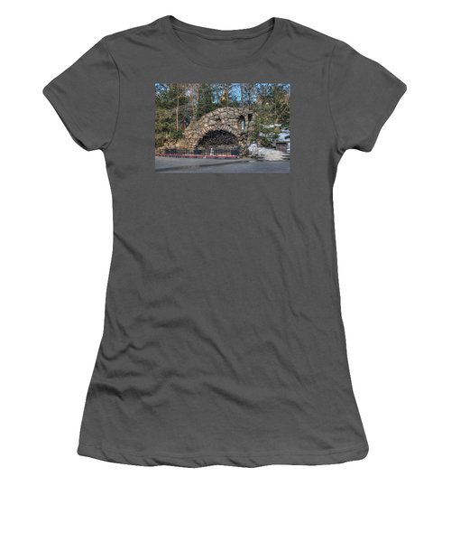 Grotto At Notre Dame University Women's T-Shirt (Athletic Fit)