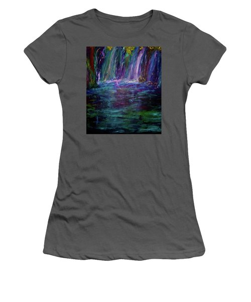Grotto Women's T-Shirt (Junior Cut) by Heidi Scott