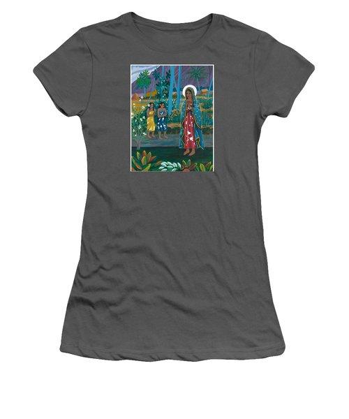 Guadalupe Visits Gauguin Women's T-Shirt (Junior Cut) by James Roderick