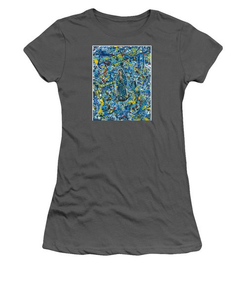Guadalupe Visits Pollack Women's T-Shirt (Junior Cut) by James Roderick