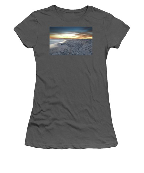 Women's T-Shirt (Junior Cut) featuring the photograph Gulf Island National Seashore by Renee Hardison