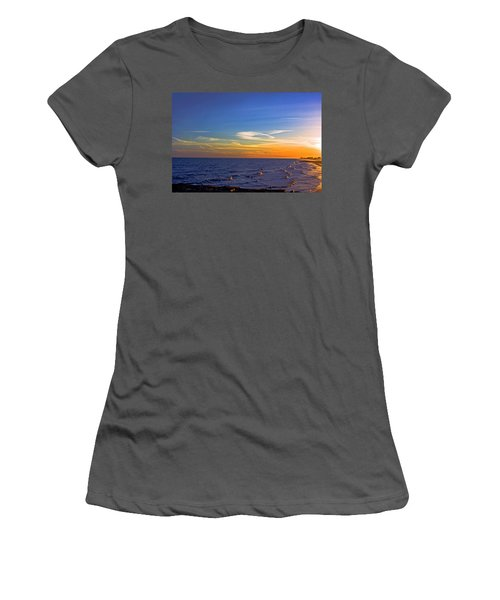 Gulf Sunset Women's T-Shirt (Athletic Fit)