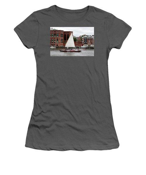 Gundalow Women's T-Shirt (Athletic Fit)