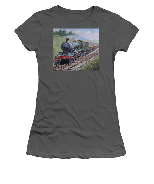 Gwr Saint Class Women's T-Shirt (Junior Cut) by Mike  Jeffries