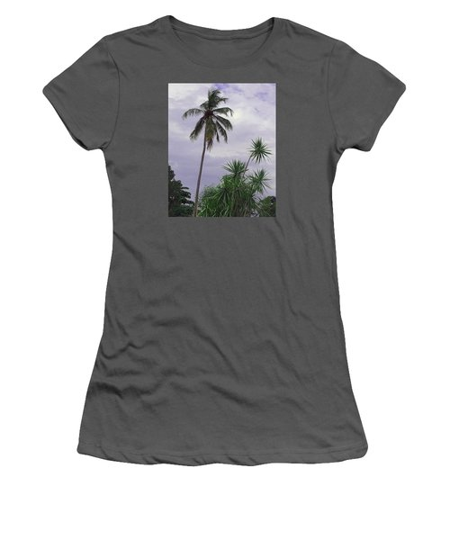Women's T-Shirt (Junior Cut) featuring the photograph Haiti Where Are All The Trees by B Wayne Mullins