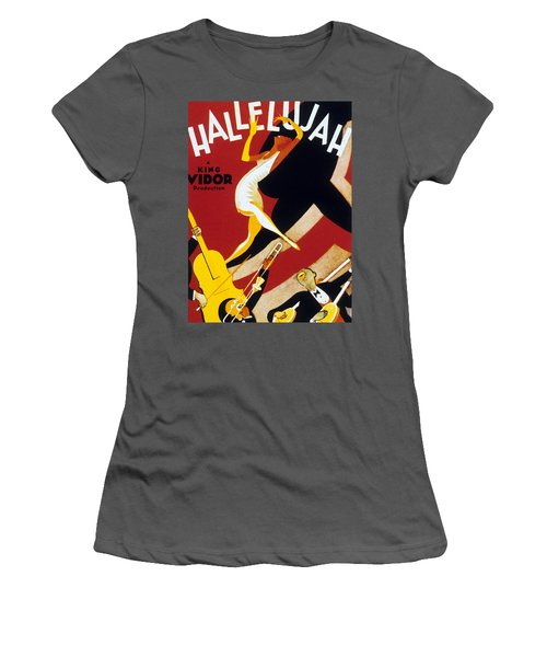 Hallelujah Women's T-Shirt (Athletic Fit)