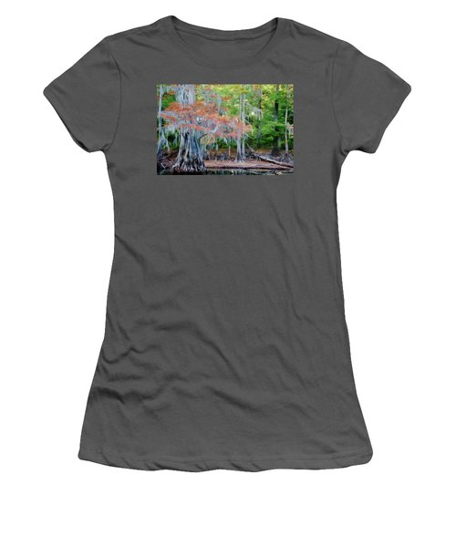 Hanging Rust Women's T-Shirt (Junior Cut) by Lana Trussell