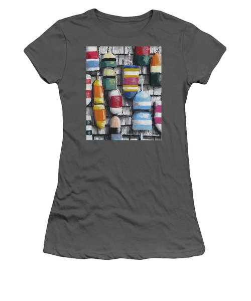 Hanging With The Buoys Women's T-Shirt (Athletic Fit)
