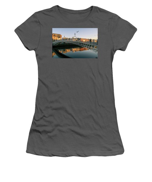 Ha'penny Bridge Women's T-Shirt (Athletic Fit)