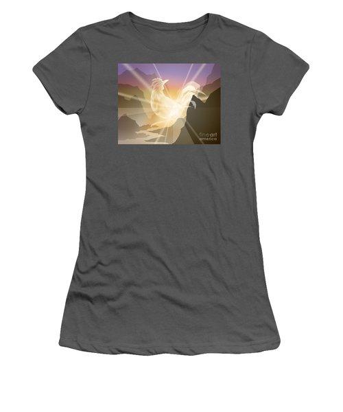 Harbinger Of Light Women's T-Shirt (Athletic Fit)