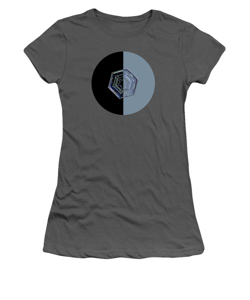 Harlequin Snowflake II Women's T-Shirt (Junior Cut)