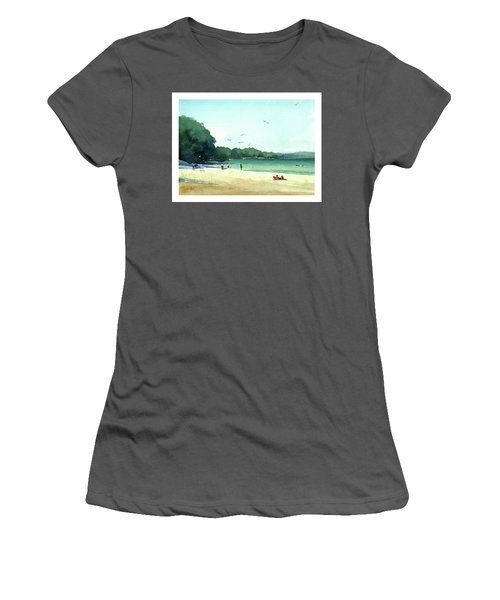 Harrington Beach, Wisconsin Women's T-Shirt (Athletic Fit)