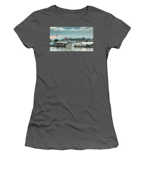 Harris Crab House Women's T-Shirt (Athletic Fit)