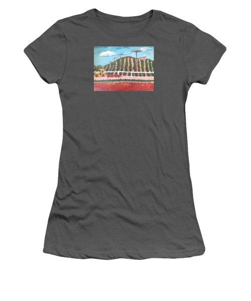 Harvest Season Temecula Women's T-Shirt (Junior Cut) by Roxy Rich