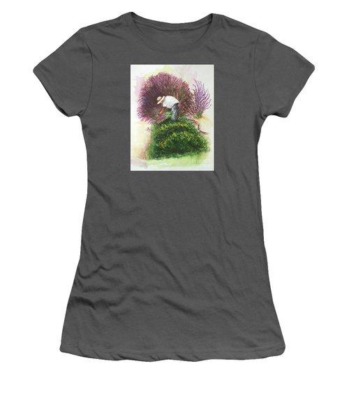 Harvesting Lavender Women's T-Shirt (Athletic Fit)