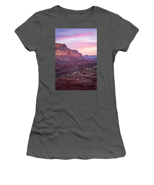 Havasupai Desert Sunrise Women's T-Shirt (Athletic Fit)