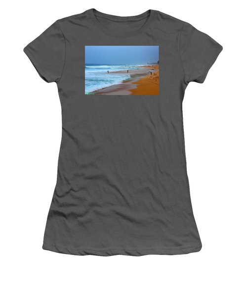 Hawaii - Sunset Beach Women's T-Shirt (Athletic Fit)