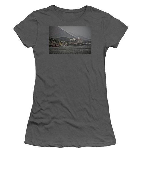 Hazy Day In Paradise  Women's T-Shirt (Junior Cut) by Timothy Latta