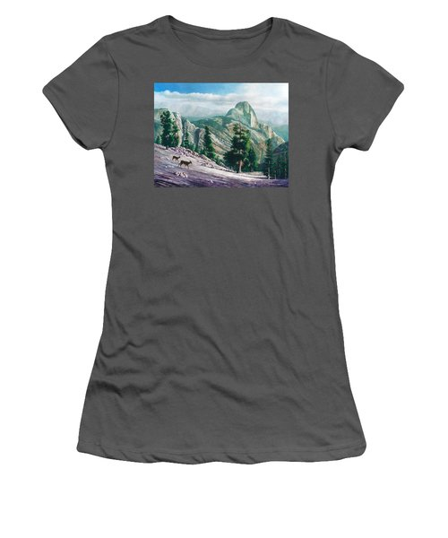 Heading Down Women's T-Shirt (Athletic Fit)