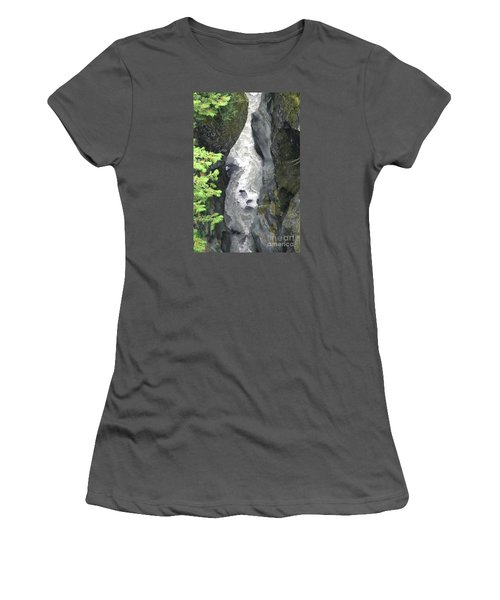 Headwaters Of The Cowlitz River Women's T-Shirt (Junior Cut) by Rich Collins