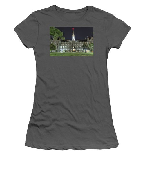 Healy Hall Women's T-Shirt (Athletic Fit)