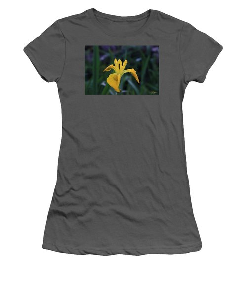 Heart Of Iris Women's T-Shirt (Athletic Fit)