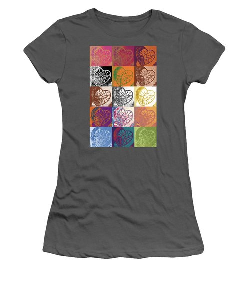 Heart To Heart Rendition 5x3 Equals 15 Women's T-Shirt (Athletic Fit)