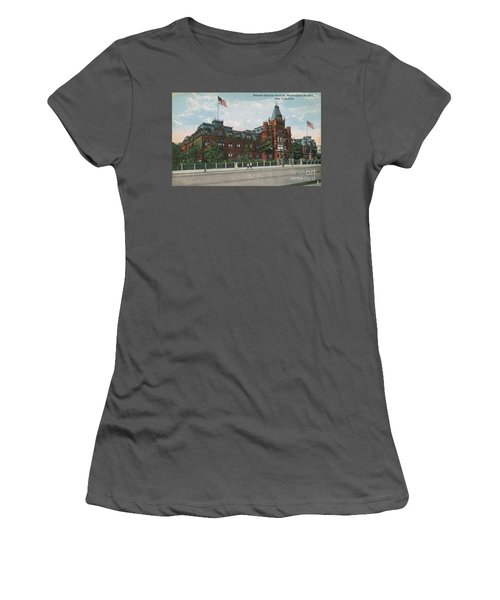 Women's T-Shirt (Athletic Fit) featuring the photograph Hebrew Orphan Asylum by Cole Thompson