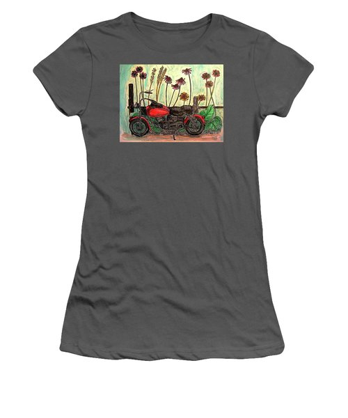 Her Wild Things  Women's T-Shirt (Athletic Fit)