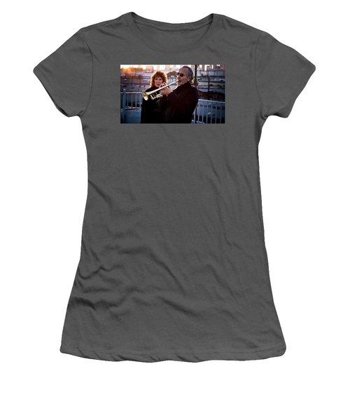 Herb Alpert Women's T-Shirt (Athletic Fit)