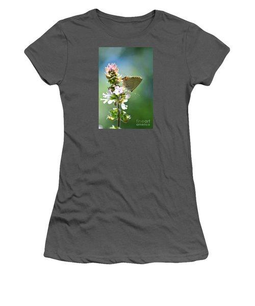 Herb Visitor Women's T-Shirt (Junior Cut) by Debbie Green