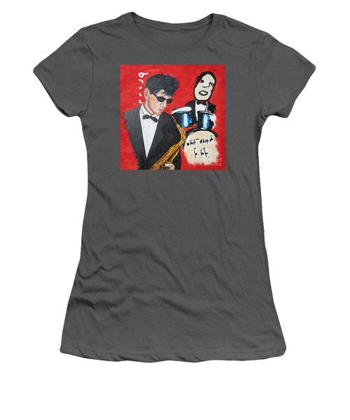 Herman Brood Jamming With His Art Women's T-Shirt (Junior Cut) by Jeepee Aero