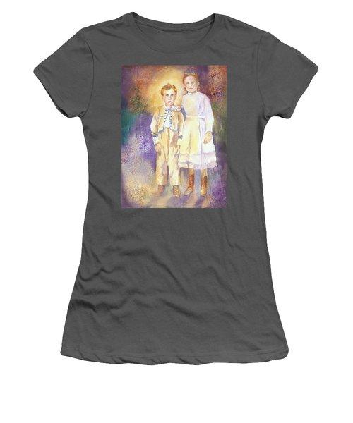 Hidden Treasures Women's T-Shirt (Junior Cut) by Tara Moorman